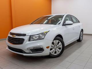 Used 2016 Chevrolet Cruze LT *CAMERA* BLUETOOTH *BAS KILOMETRAGE* PROMO for sale in St-Jérôme, QC