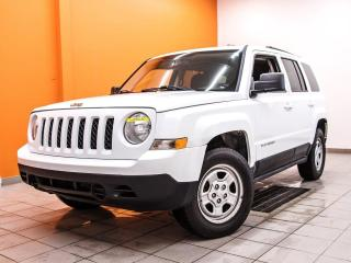 Used 2011 Jeep Patriot NORTH *CLIMATISEUR* REG VITESSE *PRISE 115V* PROMO for sale in St-Jérôme, QC