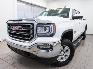 Used 2016 GMC Sierra 1500 SLE CREW 4X4 CAMÉRA BLUETOOTH *GR. REMORQUAGE* for sale in St-Jérôme, QC