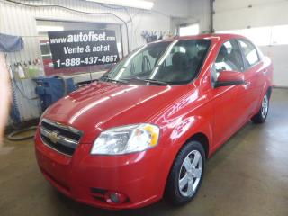 Used 2010 Chevrolet Aveo $28.94 par semaine +taxes4dr Sdn LT for sale in St-Raymond, QC