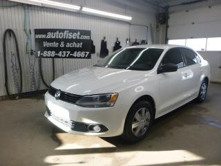 Used 2013 Volkswagen Jetta 4dr 2.0L Man Trendline for sale in St-Raymond, QC
