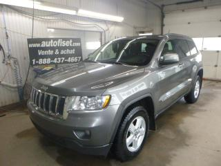 Used 2012 Jeep Grand Cherokee 4WD 4dr Laredo $ 73.49 PAR SEMAINE + TAXES for sale in St-Raymond, QC