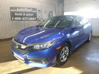 Used 2016 Honda Civic 4dr CVT LX , TRANSMISSION  AUTOMATIQUE for sale in St-Raymond, QC