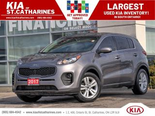 Used 2017 Kia Sportage LX | Backup Cam | Alloy | Bluetooth | Cruise Ctrl for sale in St Catharines, ON