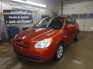 Used 2009 Hyundai Accent 3dr HB Man L for sale in St-Raymond, QC