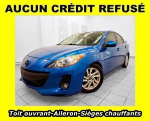 Used 2013 Mazda MAZDA3 GS-SKY AILERON SIÈGES CHAUFFANTS *TOIT OUVRANT* for sale in St-Jérôme, QC