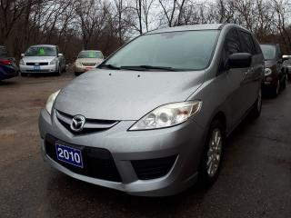 Used 2010 Mazda MAZDA5 GS,Certified,Stick! for sale in Oshawa, ON