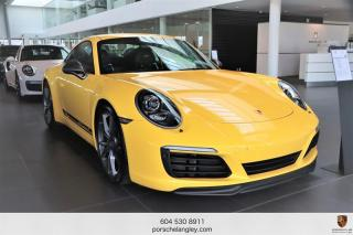 Used 2018 Porsche 911 Carrera T Coupe Porsche Certified, One Owner, Local No Accident Reported for sale in Langley City, BC