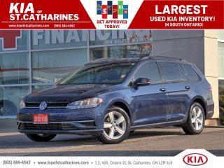 Used 2018 Volkswagen Golf TRENDLINE for sale in St Catharines, ON