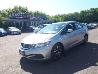 Used 2013 Honda Civic Sdn LX for sale in Oshawa, ON