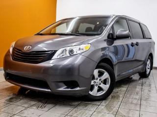 Used 2017 Toyota Sienna 7 PASSAGERS CLIMATISATION 3 ZONES *CAMÉRA RECUL* for sale in St-Jérôme, QC