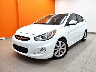 Used 2014 Hyundai Accent GLS *TOIT OUVRANT* SIEGES CHAUFF *BLUETOOTH* PROMO for sale in St-Jérôme, QC