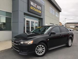 Used 2012 Mitsubishi Lancer 4DR SDN MAN SE FWD for sale in St-Georges, QC