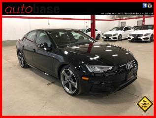 Used 2018 Audi A4 Sedan TECHNIK S-LINE BLACK for sale in Vaughan, ON