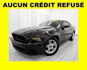 Used 2014 Ford Mustang V6 MANUELLE *PROGRAMME 100% APPROUVÉ* for sale in St-Jérôme, QC