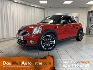 Used 2012 MINI Cooper Coupe, Cuir, Manuel, Bas Kilo! for sale in Sherbrooke, QC