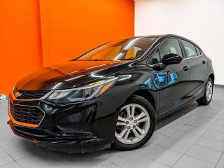 Used 2018 Chevrolet Cruze LT *CAMERA* SIEGES CHAUFFANTS *BLUETOOTH* PROMO for sale in St-Jérôme, QC