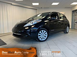 Used 2015 Nissan Leaf S, Gr. Électrique, A/C, Automatique for sale in Sherbrooke, QC