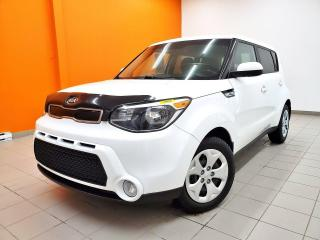 Used 2015 Kia Soul LX *BLUETOOTH* PRISE USB* GR. ÉLECTRIQUE *PROMO for sale in St-Jérôme, QC