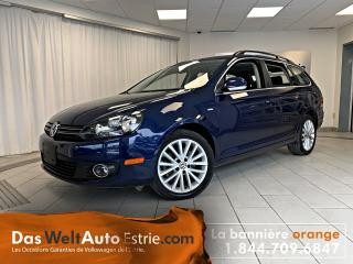 Used 2014 Volkswagen Golf Wagon Wagon TDI, Highline, Cuir, Toit, Automatique for sale in Sherbrooke, QC