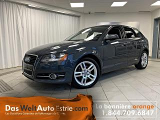Used 2011 Audi A3 2.0 TDI Premium, Cuir, Automatique for sale in Sherbrooke, QC