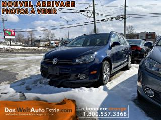Used 2014 Volkswagen Golf Wagon TDI Highline, Cuir, Toit, Automatique for sale in Sherbrooke, QC