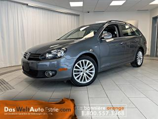 Used 2014 Volkswagen Golf Wagon TDI Wolfsburg, Cuir, Toit, Automatique Bas Kilo! for sale in Sherbrooke, QC