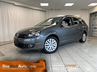 Used 2014 Volkswagen Golf Wagon TDI Trendline, Gr. Électrique, A/C, Automatique for sale in Sherbrooke, QC