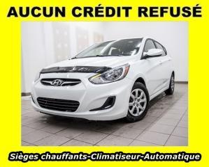 Used 2013 Hyundai Accent GL AUTOMATIQUE CLIMATISEUR SIÈGES CHAUFF *BAS KM* for sale in St-Jérôme, QC