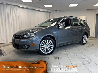 Used 2014 Volkswagen Golf Wagon TDI Wolfsburg, Cuir, Toit, Manuel for sale in Sherbrooke, QC