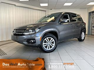 Used 2013 Volkswagen Tiguan Trendline 4Motion, Gr.Électrique, A/C, Automatique for sale in Sherbrooke, QC