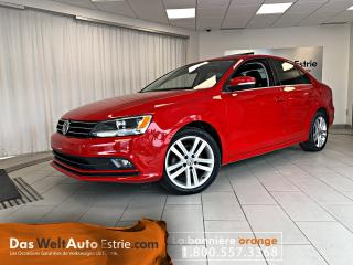 Used 2015 Volkswagen Jetta 1.8 TSI Highline, Cuir, Toit, Manuel for sale in Sherbrooke, QC