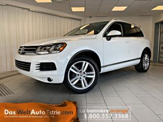 Used 2013 Volkswagen Touareg V6 Comfortline, Similicuir, Toit, Automatique for sale in Sherbrooke, QC