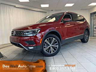 Used 2019 Volkswagen Tiguan Highline 4MOTION, Cuir, Toit, Automatique Bas Kilo for sale in Sherbrooke, QC