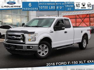 Used 2016 Ford F-150 XLT SUPERCAB **4X4*CAMERA*BLUETOOTH*A/C** for sale in Victoriaville, QC