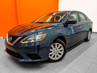 Used 2018 Nissan Sentra S AUTOMATIQUE *BAS KM* BLUETOOTH * CAMERA *PROMO for sale in St-Jérôme, QC