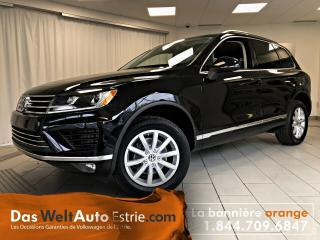 Used 2015 Volkswagen Touareg 3.0 TDI Sportline, Toit, Automatique for sale in Sherbrooke, QC