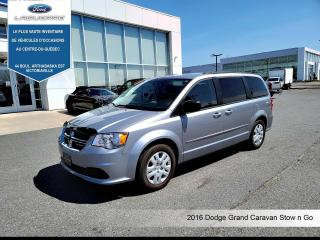 Used 2016 Dodge Grand Caravan SXT **7 PLACES*CRUISE*A/C** for sale in Victoriaville, QC
