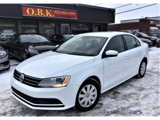 Used 2015 Volkswagen Jetta 2.0L-CAMERA DE RECUL-BLUETOOTH-AUTOMATIQUE for sale in Laval, QC