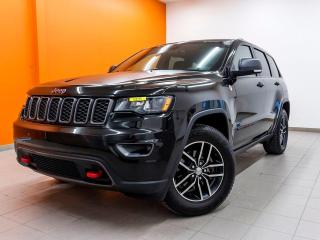 Used 2017 Jeep Grand Cherokee TRAILHAWK 4X4 *NAVIGATION* SIEGES VENTILÉS *PROMO for sale in St-Jérôme, QC