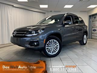 Used 2016 Volkswagen Tiguan 4MOTION, Special Edition, Automatique Bas Kilo! for sale in Sherbrooke, QC
