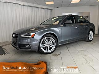 Used 2016 Audi A4 Komfort, Quattro, Cuir, Toit, Automatique for sale in Sherbrooke, QC