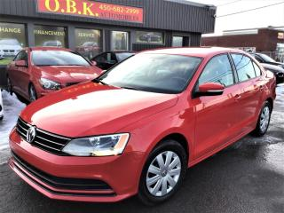 Used 2015 Volkswagen Jetta 2.0L-CAMERA RECUL-AUTOMATIQUE-BLUETOOTH for sale in Laval, QC