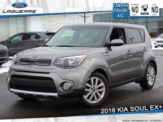 Used 2018 Kia Soul EX+ ** CAMERA*BLUETOOTH*A/C** for sale in Victoriaville, QC