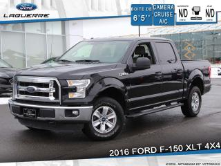 Used 2016 Ford F-150 XLT 4X4 **CAMERA*BLEUTOOTH*CRUISE*A/C** for sale in Victoriaville, QC