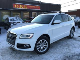 Used 2016 Audi Q5 Progressiv-NAVIGATION-TOIT PANO-CAM RECUL-AWD- for sale in Laval, QC