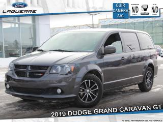 Used 2019 Dodge Grand Caravan GT *7 PLACES*CUIR*CAMERA*BLUETOOTH*A/C** for sale in Victoriaville, QC