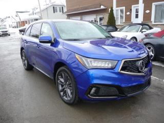 Used 2019 Acura MDX 7 PASSAGERS for sale in Ste-Marie, QC