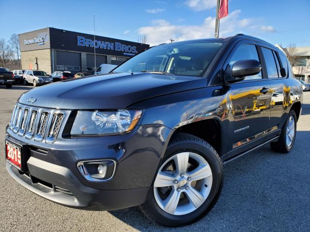 2015 Jeep Compass High Altitude, LOCAL, LEATHER, MOONROOF