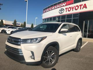 Used 2017 Toyota Highlander XLE AWD **CUIR/TOIT/GPS/PEA PLATINE 2022-100K for sale in St-Eustache, QC